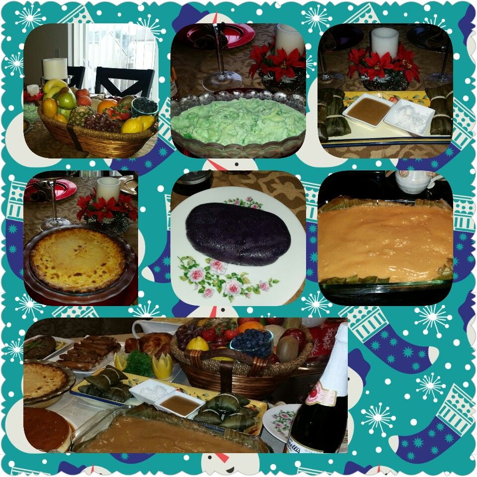 Media Noche Desserts New Year 2017