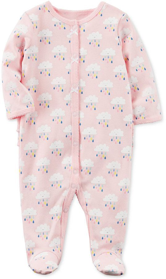 31241bbd8 Carter s Cater s Printed Footed Cotton Coverall
