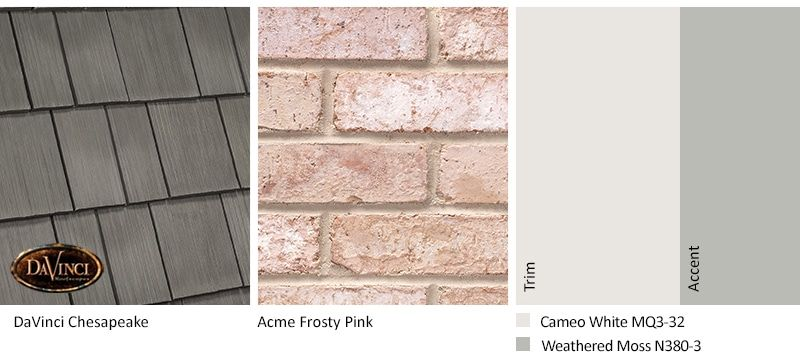 Pink Brick Exterior Color Schemes Brick House Exterior Colors Exterior Paint Colors For House Exterior House Colors