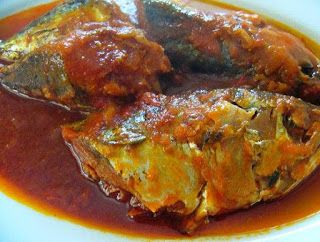 Resep Cara Mengolah Ikan Tongkol Masak Santan Makanan Masakan Resep