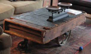 Primitive Coffee Table Made From Old Cart I Want One Primitive Coffee Table Rustic Coffee Tables Coffee Table
