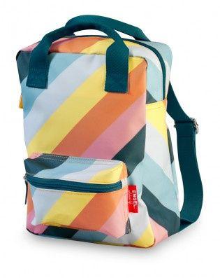 12aefcd0f89 ENGELpunt rugzak small Stripe Rainbow | ENGELpunt | Kind Zo Blij ...