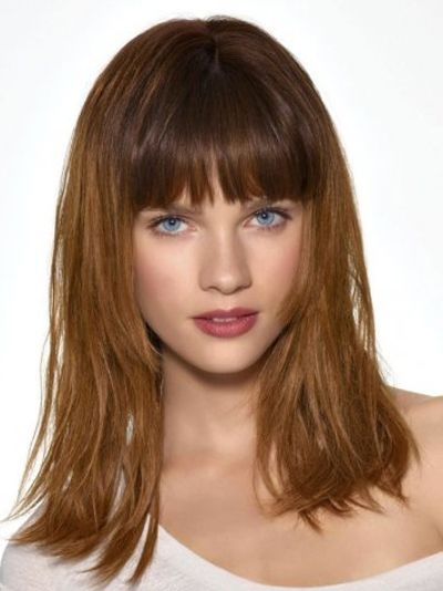 Women Trend Hair Styles for 2013: Shoulder Length Layered ...