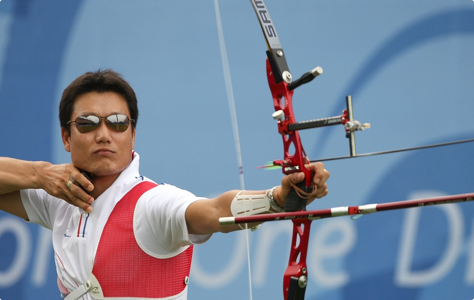 time line of the archery on the Olympic Games