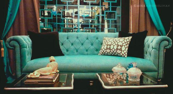 turquoise sofa  Turquoise Sofa FOR SALE from Manila Metropolitan