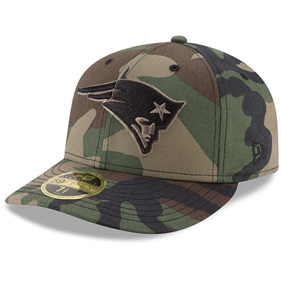 NFL Cincinnati Bengals New Era Heather Camo Low Profile 59FIFTY Fitted Cap Hat