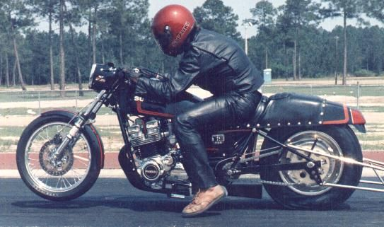 This Is Me On My Gs1100 Prostocker With A 15 Inch Rear Tire At Launch Pro Stocker Gs1100 Gs Drag Bike Suzuki Motorcycle Htp Www Inthewind Org