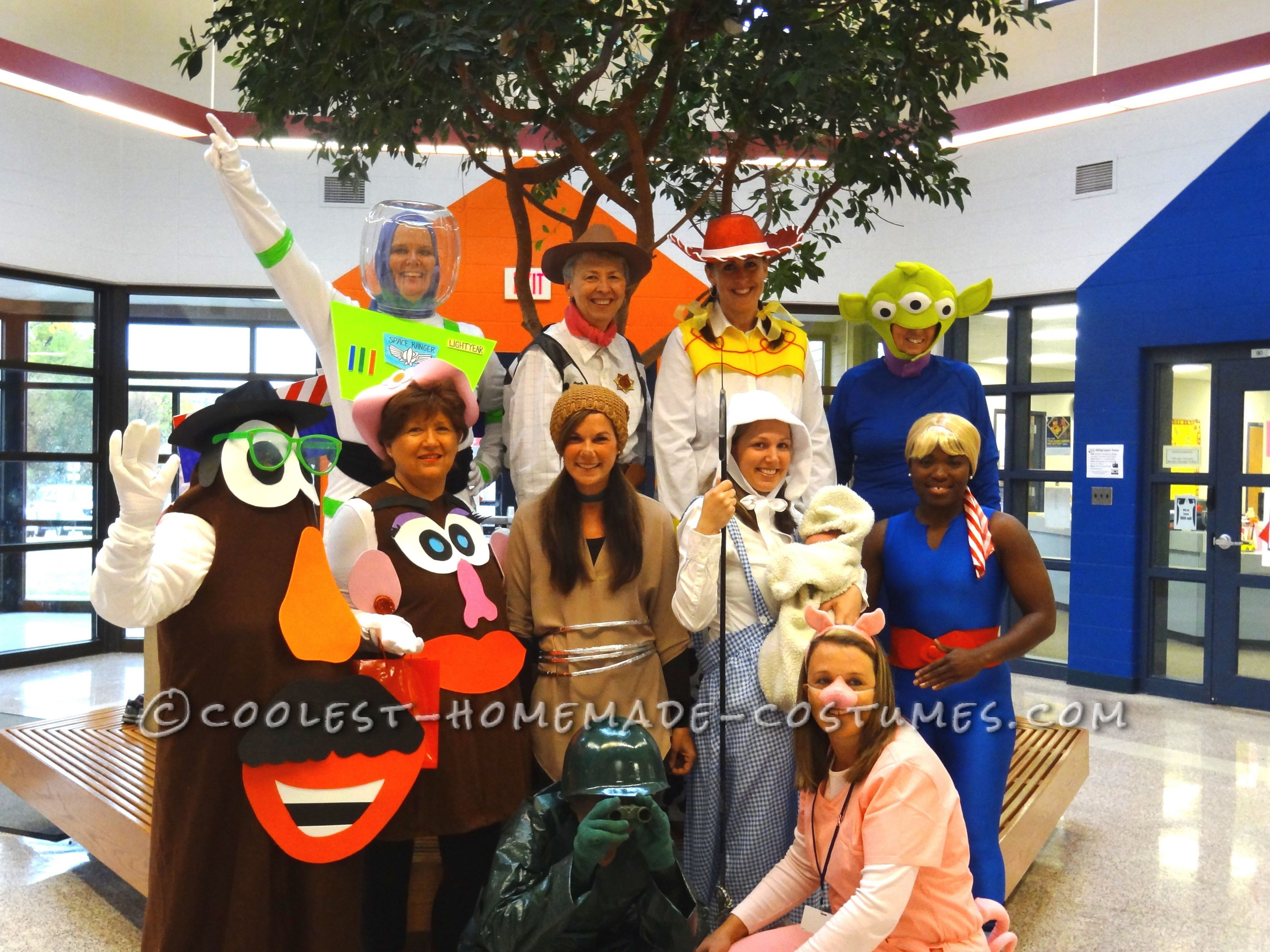 group toy story halloween costumes | group halloween costume ideas