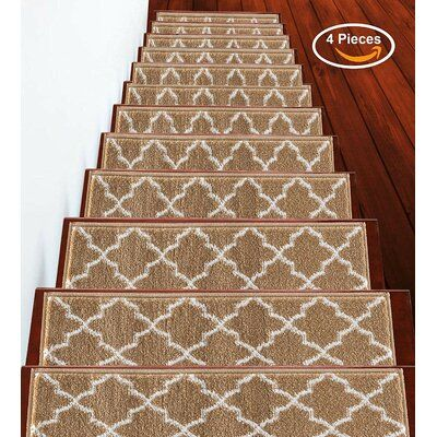 Best Canora Grey Nathaniel Stair Tread Color Beige In 2020 400 x 300