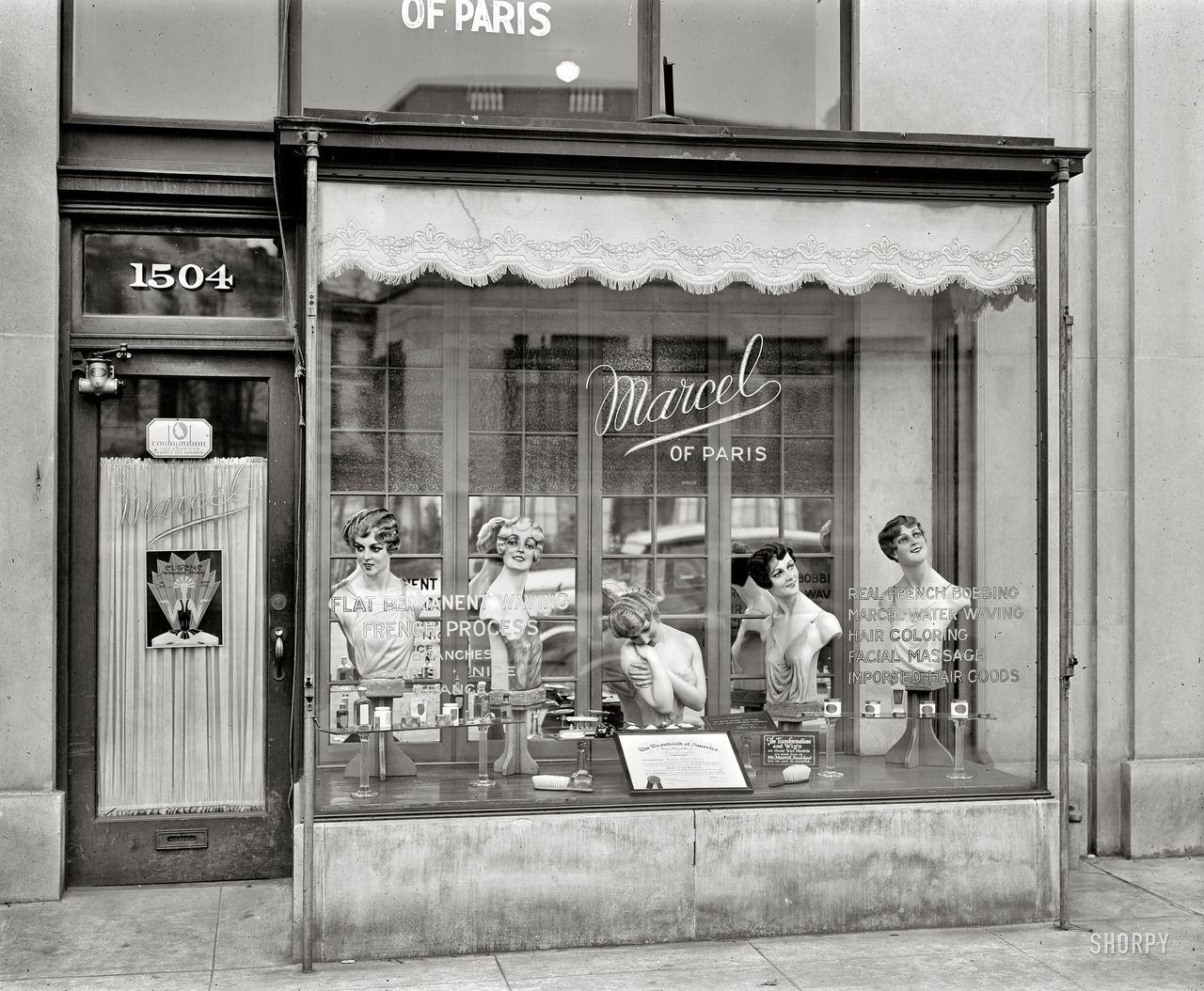 Marcel Beauty Shop, Connecticut Avenue, Washington, D.C. c