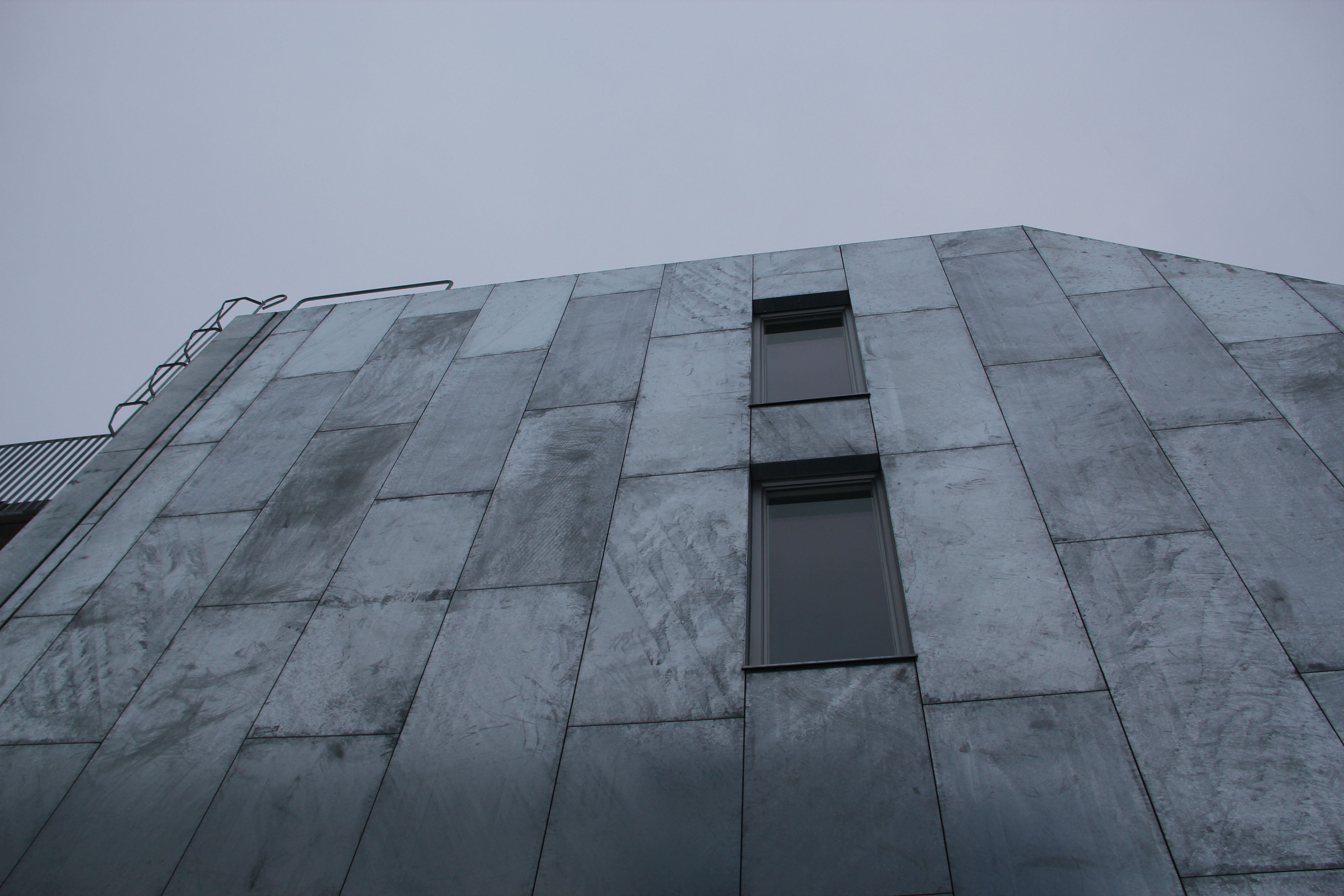 Galvanized Roofing Sheet Cladding : Hot dip galvanized steel cladding tappen project facades