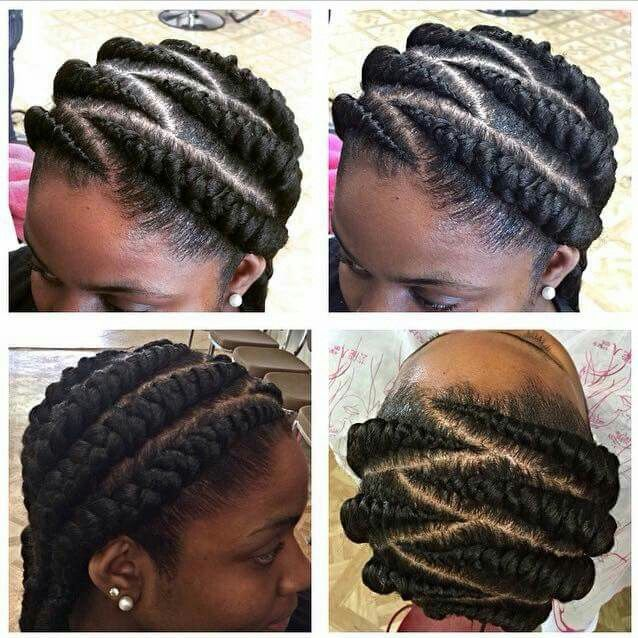 Simple Big Cornrows With Images Natural Hair Styles Cornrows