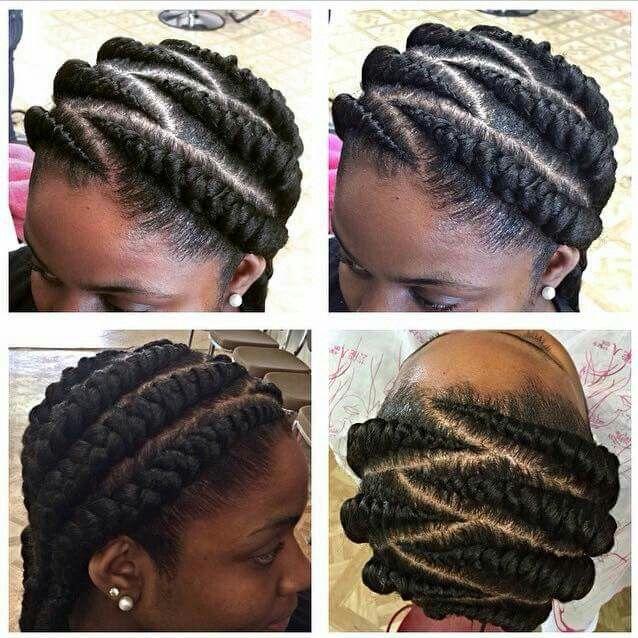 Simple Big Cornrows Natural Hair Styles Hair Styles Braided Hairstyles