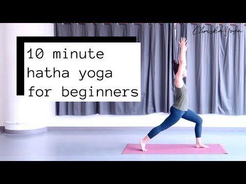10 minute hatha yoga for beginners — chriskayoga  hatha
