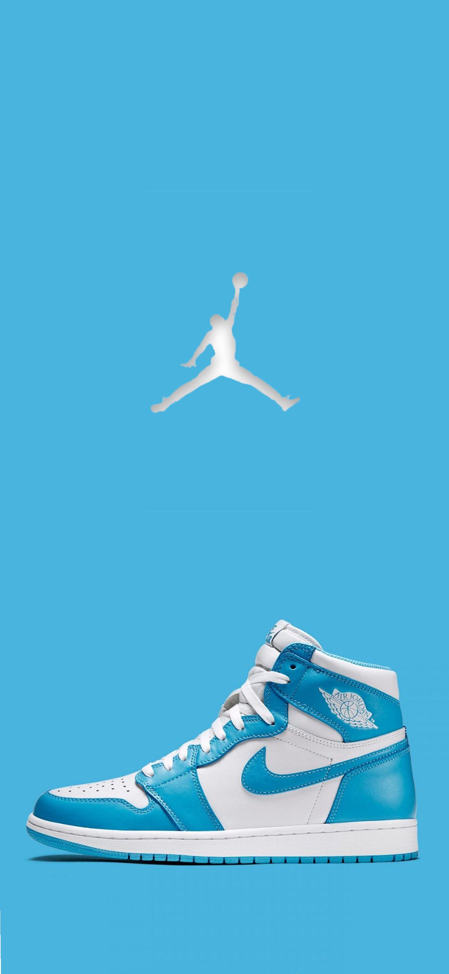 Unc Jordan 1 Sneakers Wallpaper Jordan Shoes Wallpaper Sneakers Illustration
