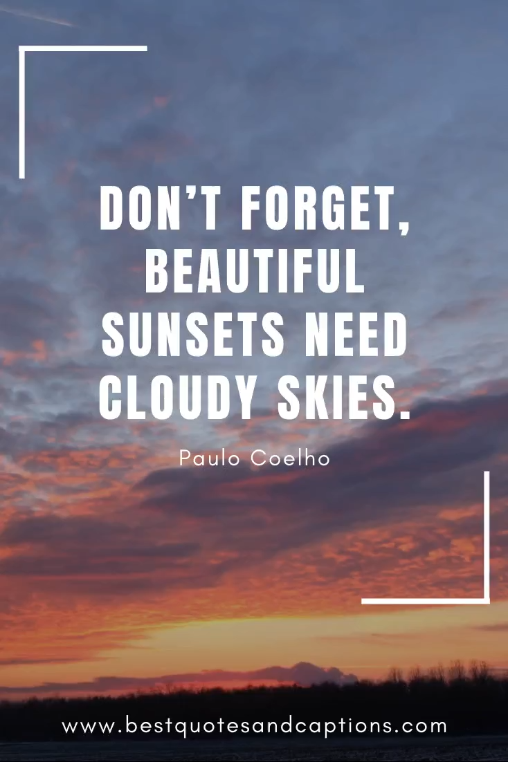 Sunset Quotes | 300+ of the best quotes & sunset captions for Instagram
