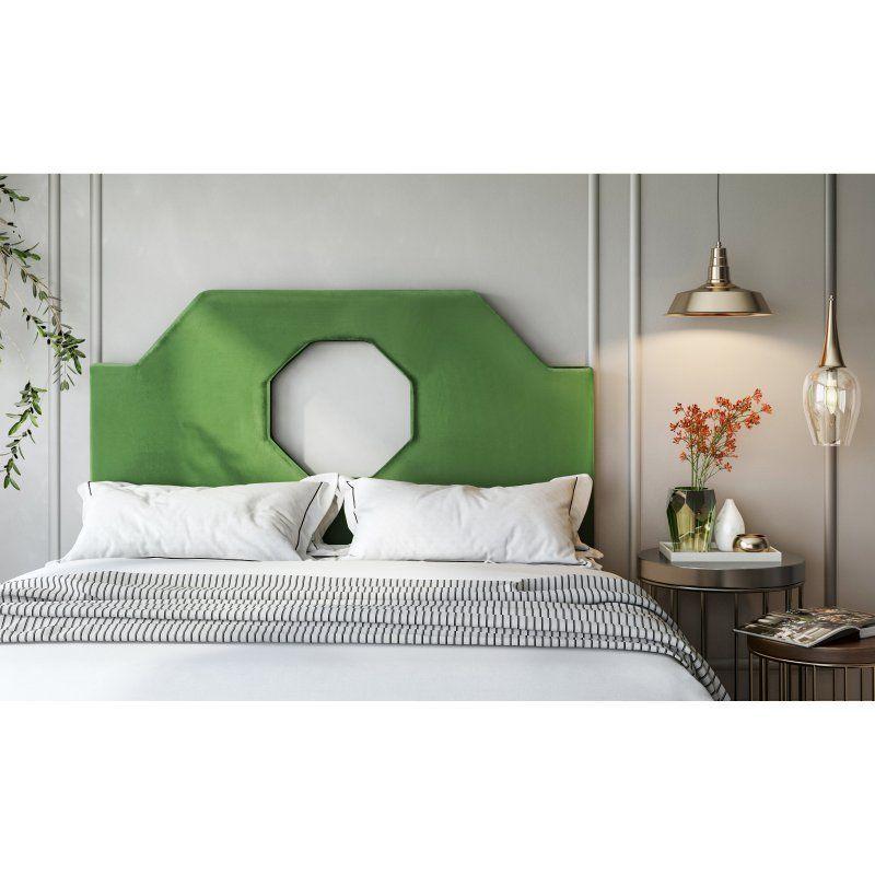 TOV Furniture Noctis Velvet Upholstered Headboard - TOV-B80-T ...