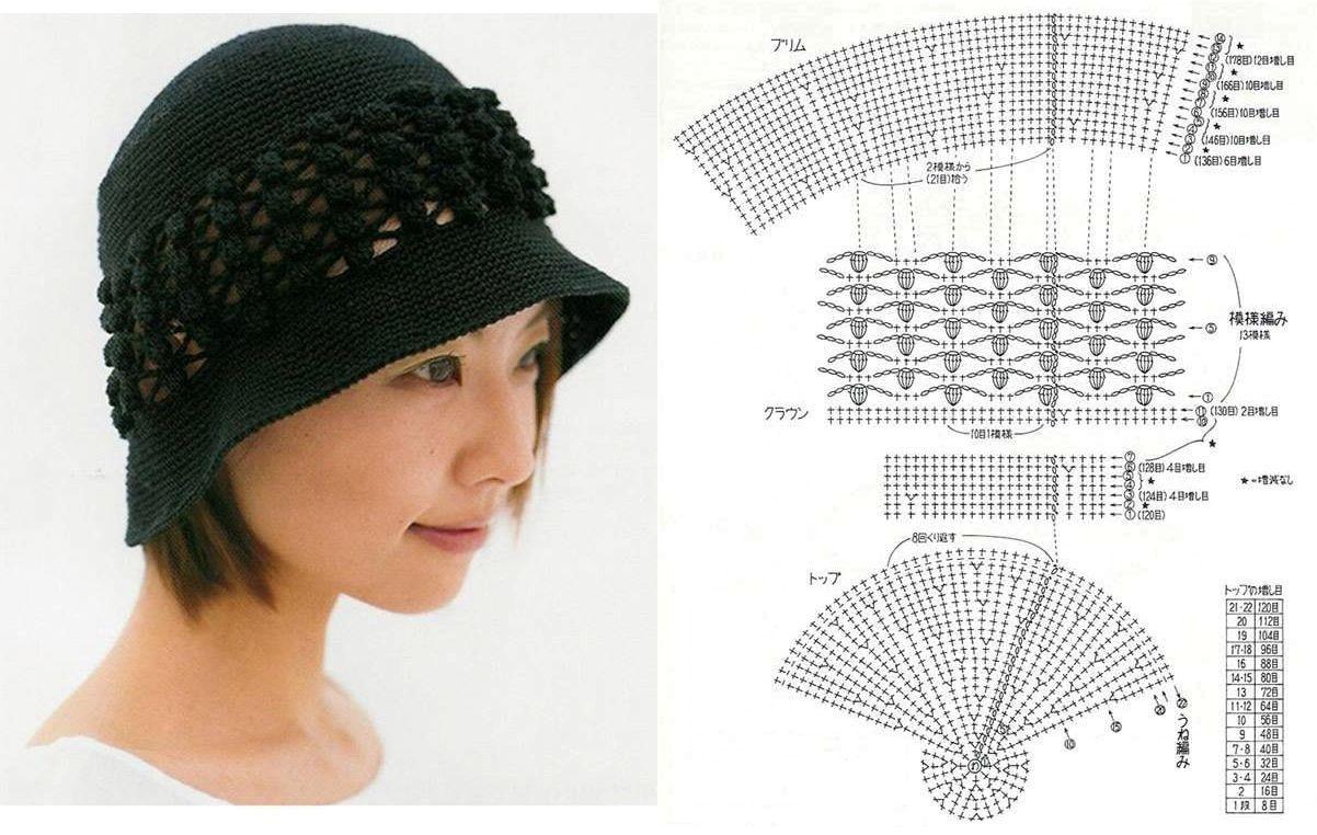 Crochet Cloche | Crochet | Pinterest | Gorros, Sombreros de ...