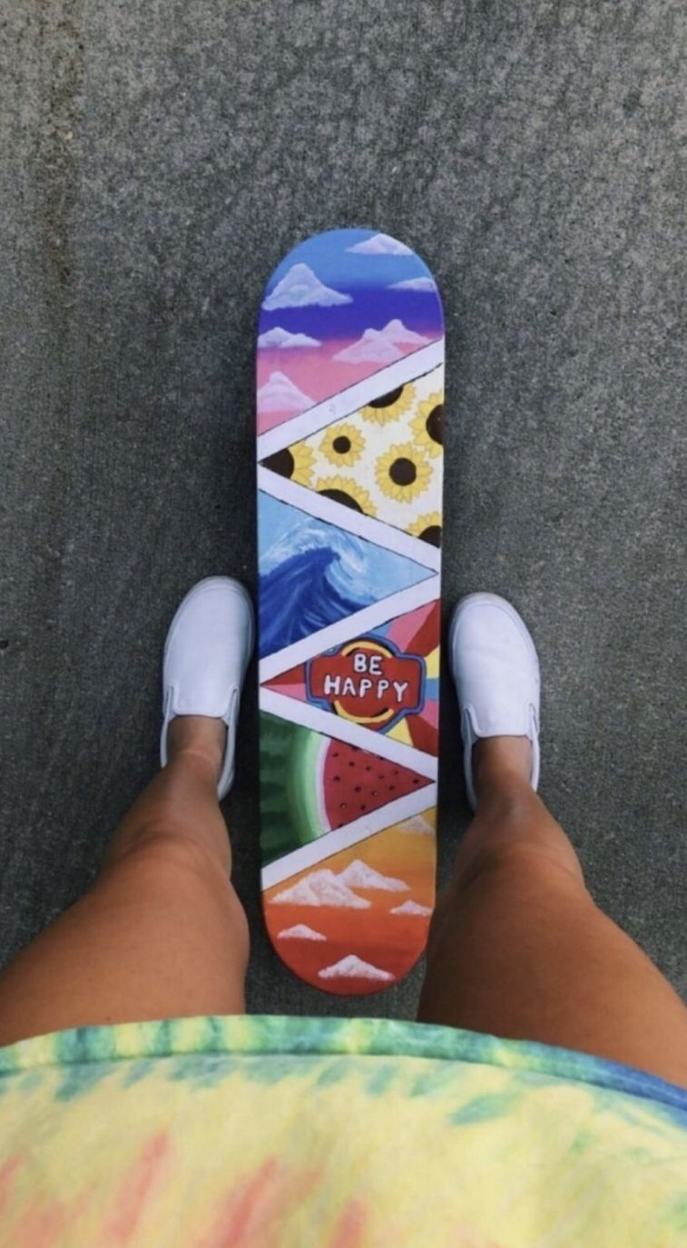 Pin By Allyson On Vsco Skateboard Art Artsy Pictures