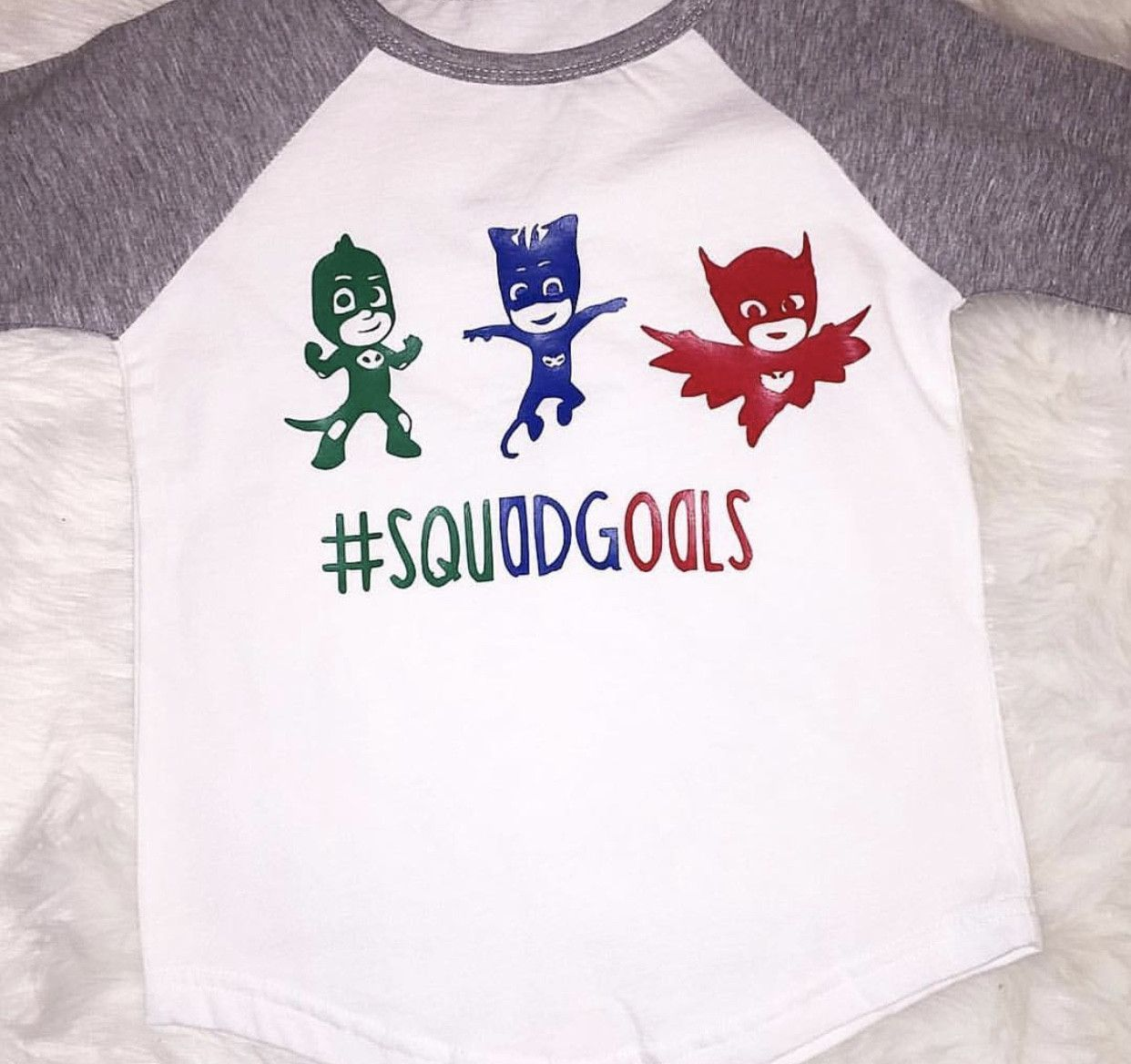 e4ebcdb7 Disney Junior PJ Mask Squad Goals Shirt | Shirt designs | Squad ...