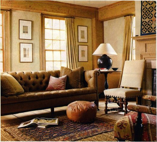 Creative Ideas That Bring Rustic Cabin Style To The Living Room
