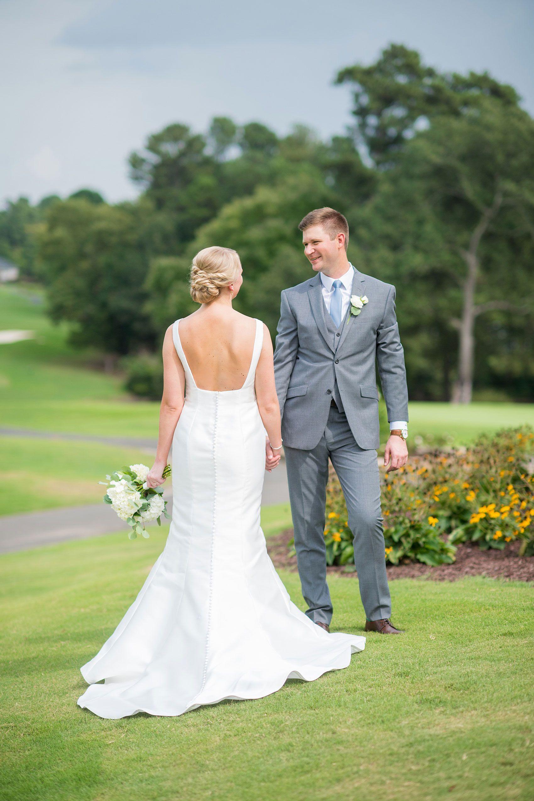durham wedding photographer at croasdaile country club