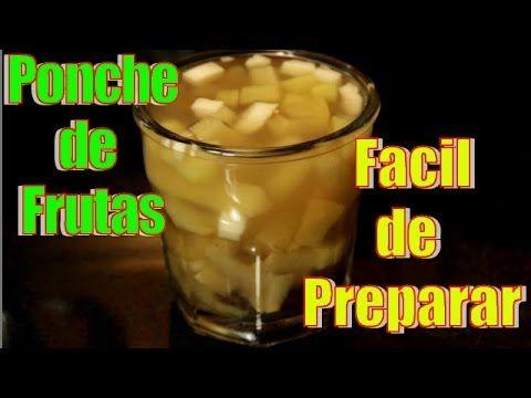Ponche de Frutas | Facil y Rapido | Casayfamiliatv ** Casayfamiliatv.com