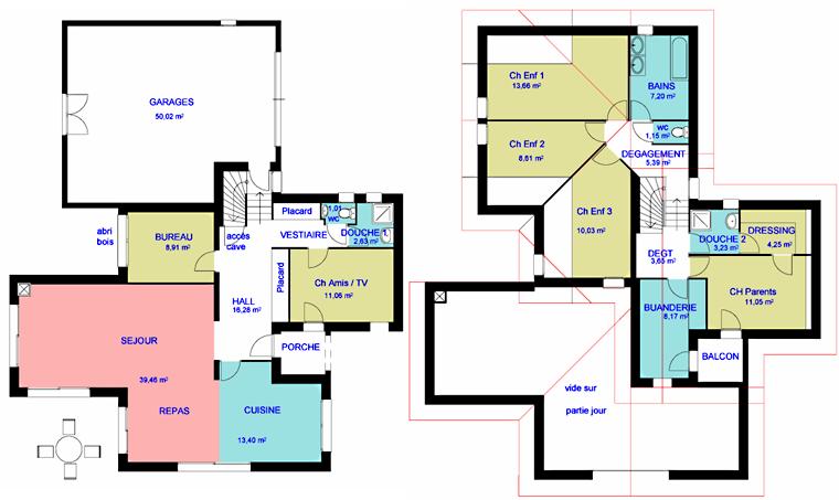 Plan de maison élaboré Plan de maison gratuit, Logiciel