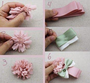 relasé: come realizzare fiori decorativi di stoffa - tutorial