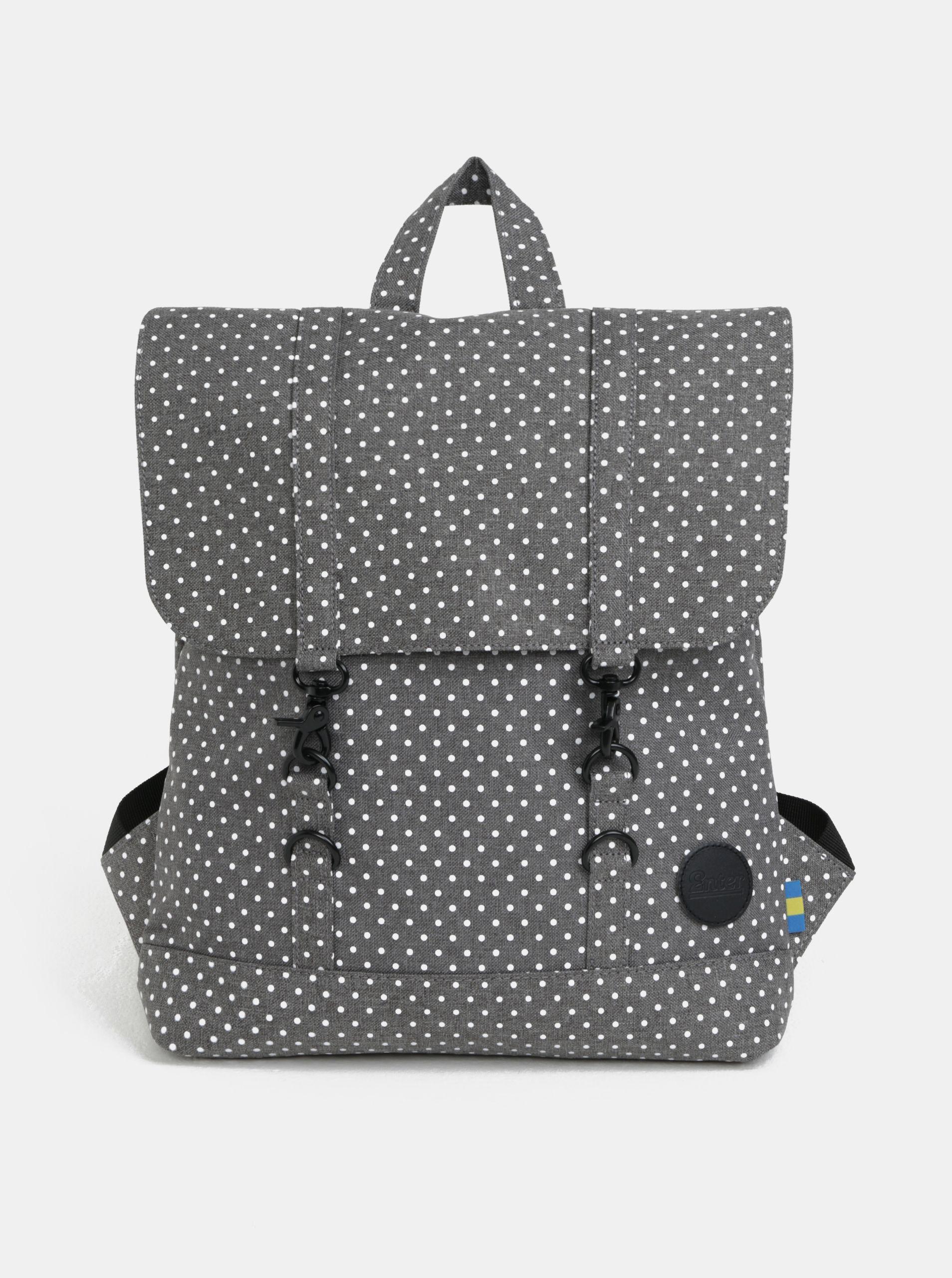 c5367a32a9 Typ  dámský městský batoh s klopou Barva  šedá