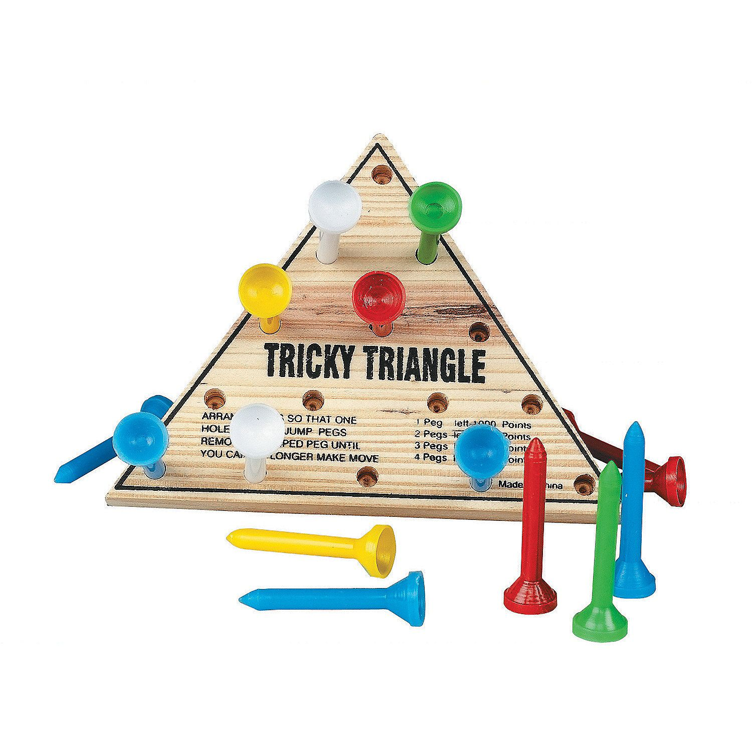Tricky Triangle Game 2/each (With