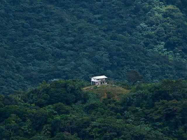 El Parque Central Yunque El Nacional Map Puerto Rico La Cordillera
