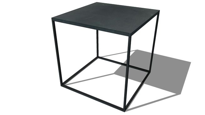la table basse edison maisons du monde r f prix 59 3d warehouse model. Black Bedroom Furniture Sets. Home Design Ideas