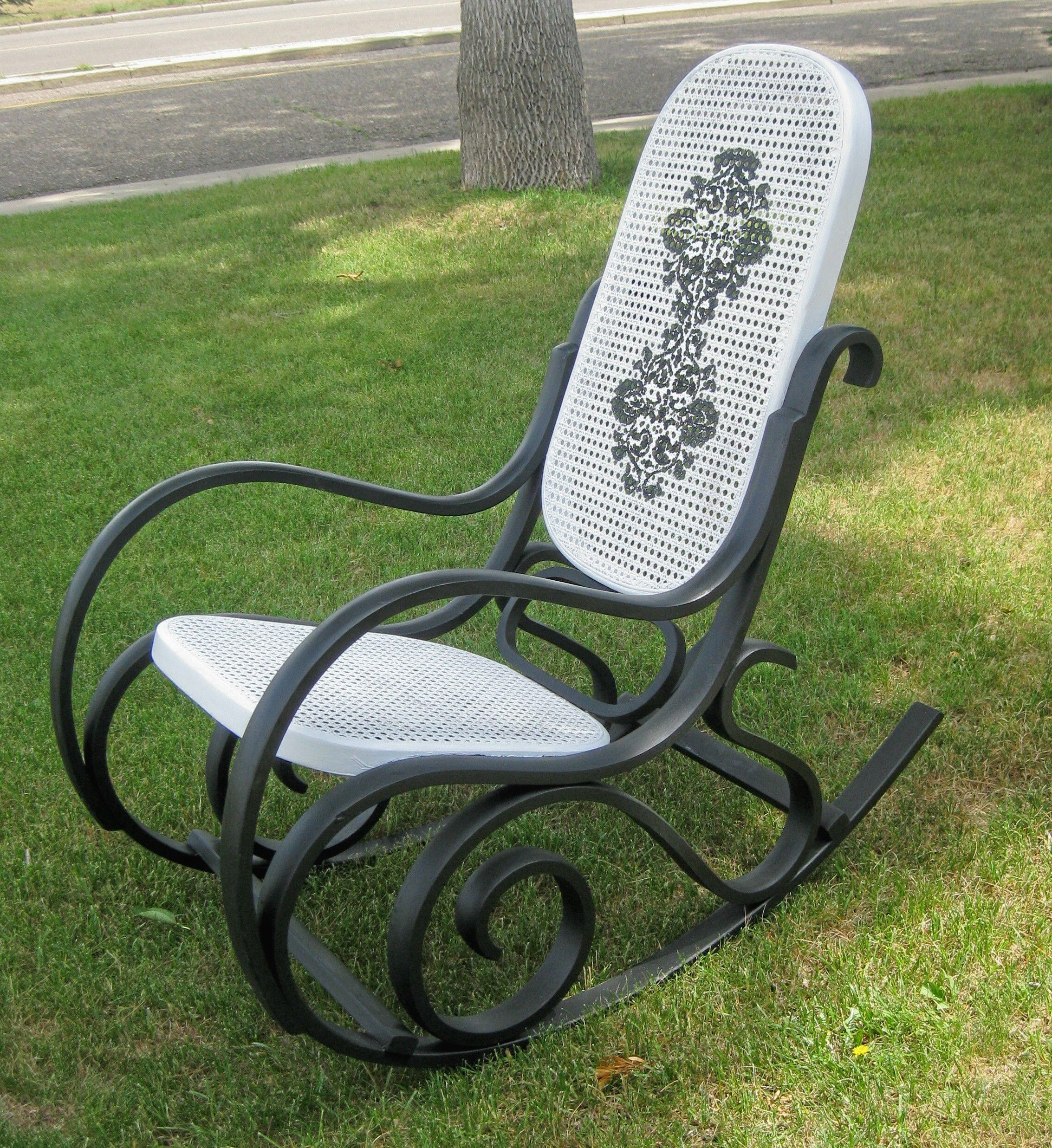 Dream Rocker Hammock Chair Target Industrial Chairs Annie Sloan Graphite And Old White Stencilled