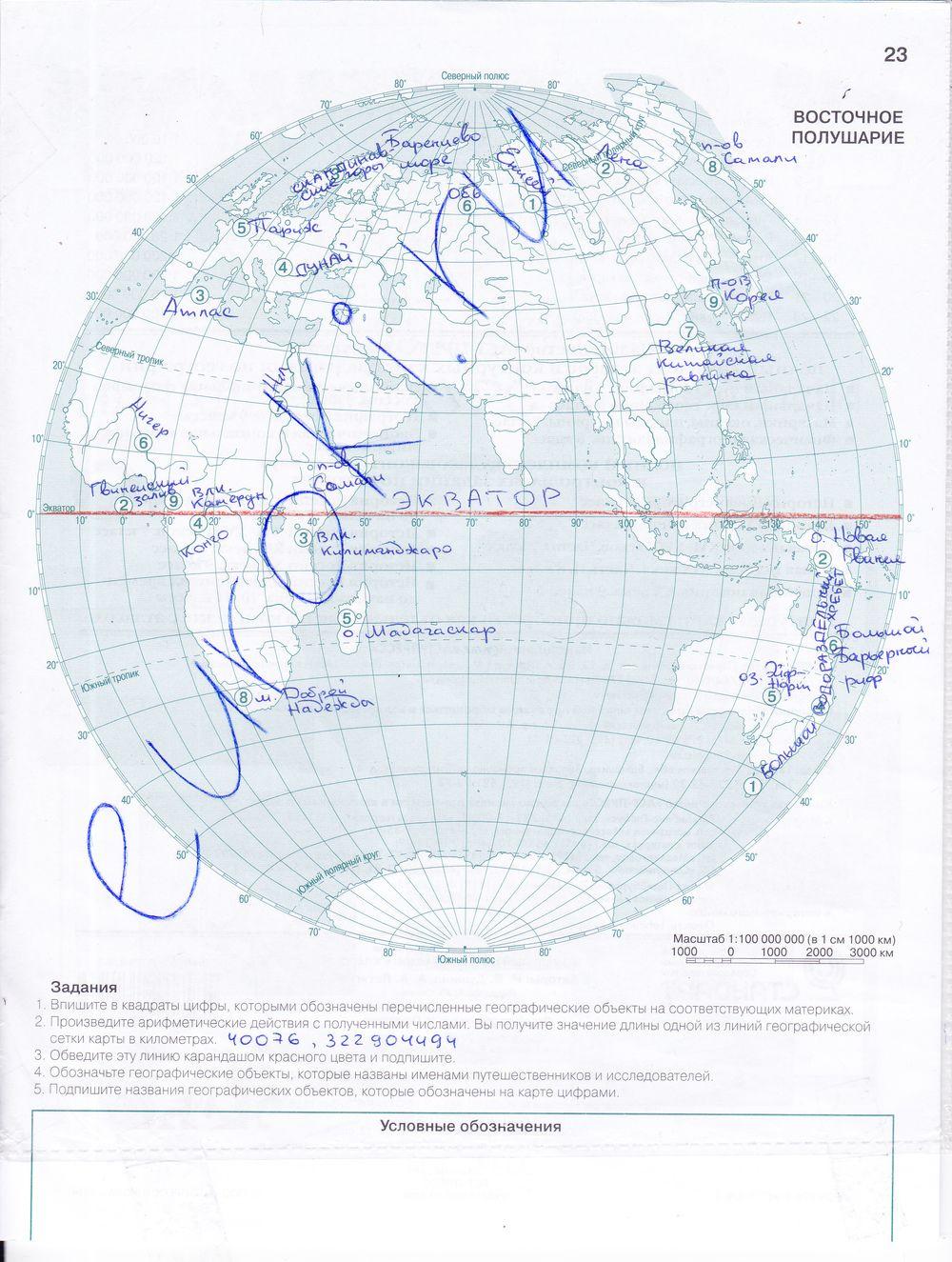 География 8 класс науменко