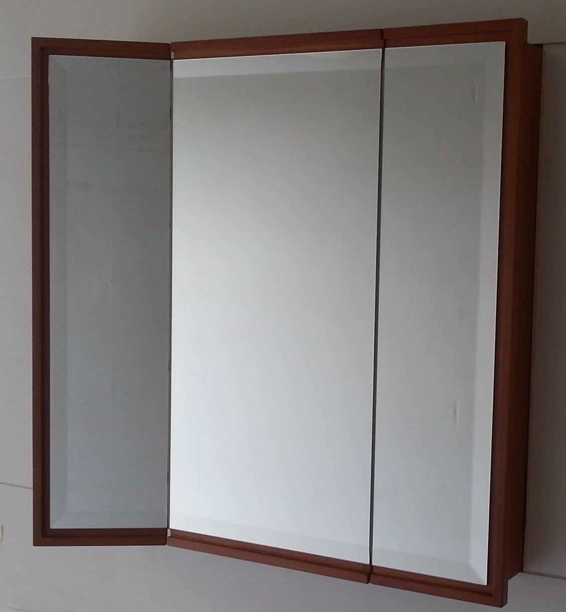 48 Medicine Cabinet Amazon  Wooden Medicine Cabinet  Cinnamon Maple Wood Framed 1