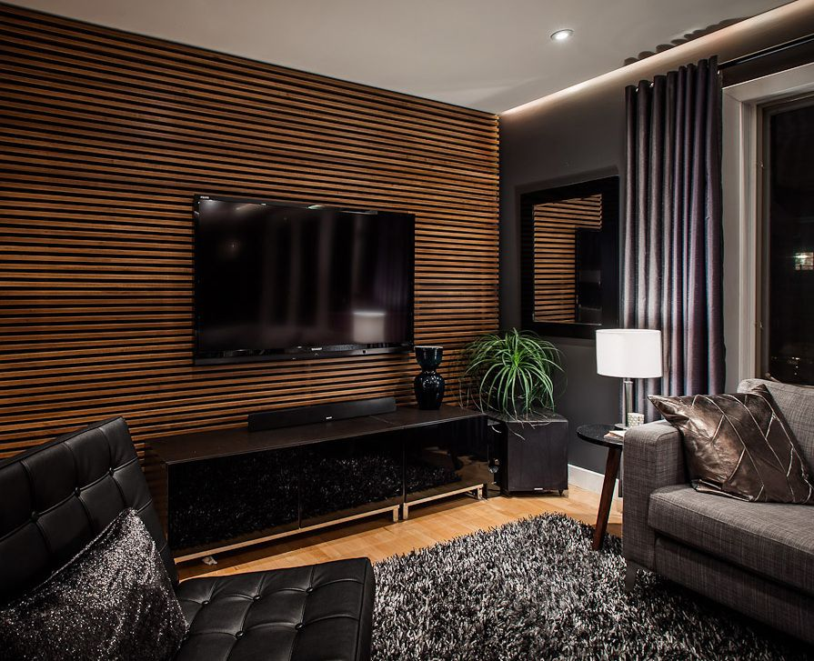 33 moderne TVWandpaneelDesigns und Modelle  Wohnzimmer
