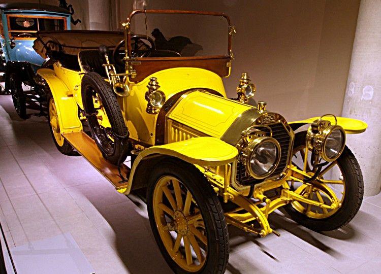 peugeot type 126, voiture routière de 1910 la peugeot type 126