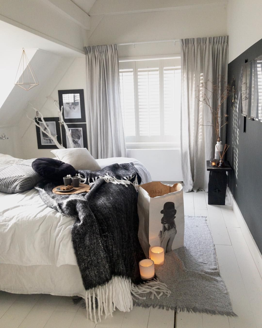 Bed Gordijn Kind Linnen Gordijnen Op De Slaapkamer Bedrooms In 2019 Bedroom