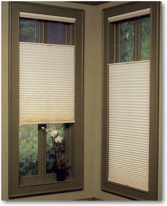 Hunter Douglas Duette Shades With Literise System And Top Down Bottom Up Option Shown With Panache Fabric Hunter Douglas Honeycomb Shades Window Treatments