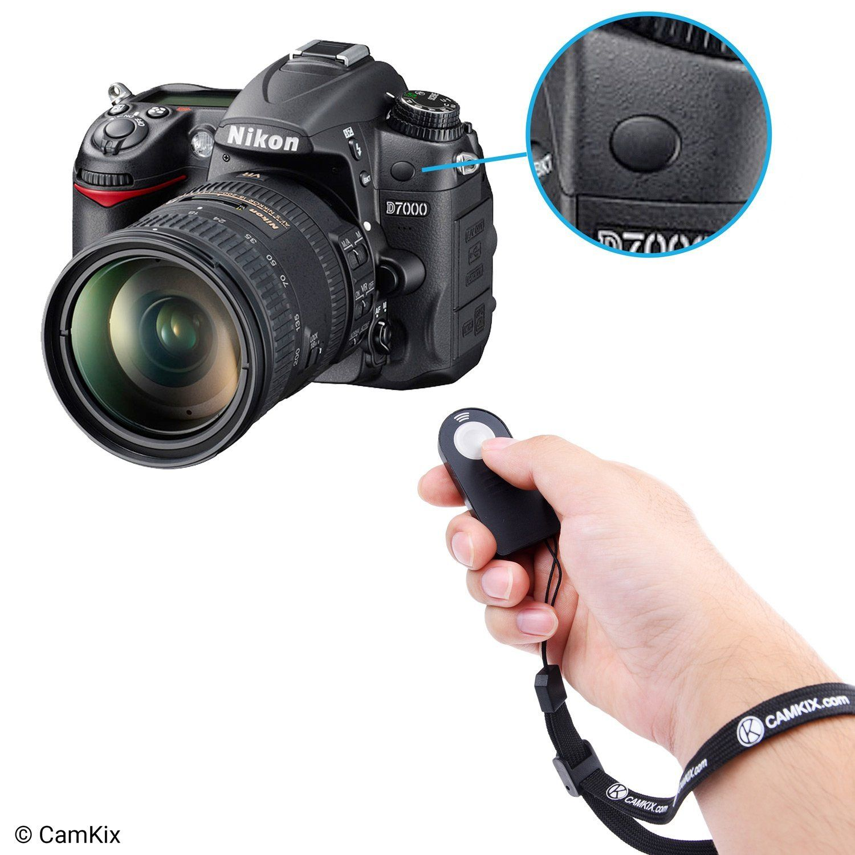 Amazon com : Set of 2 Wireless IR Shutter Remote Controls - 1x Nikon