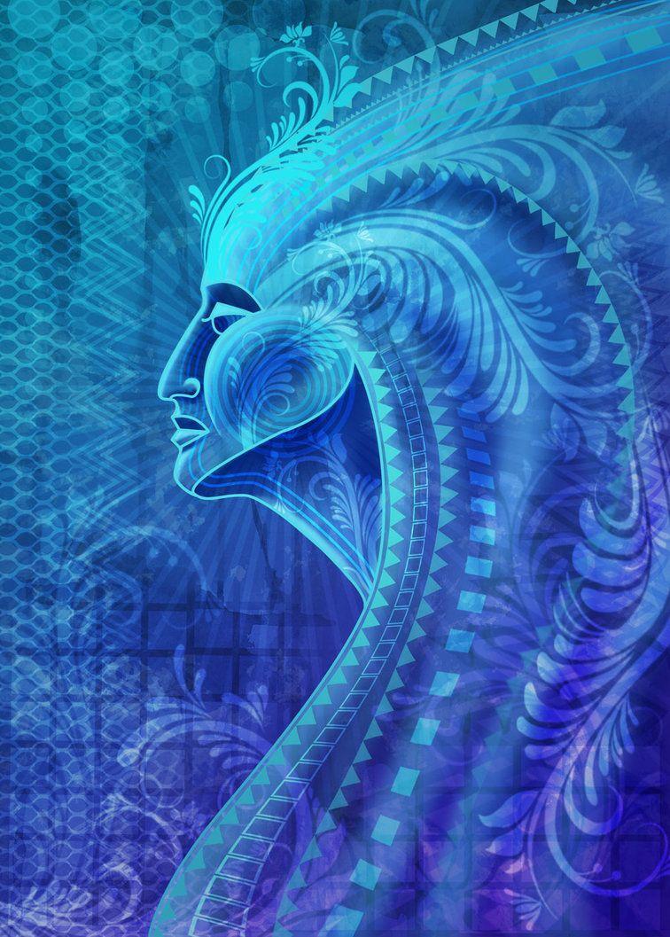 Blue Nymph by ravenscar45 on DeviantArt