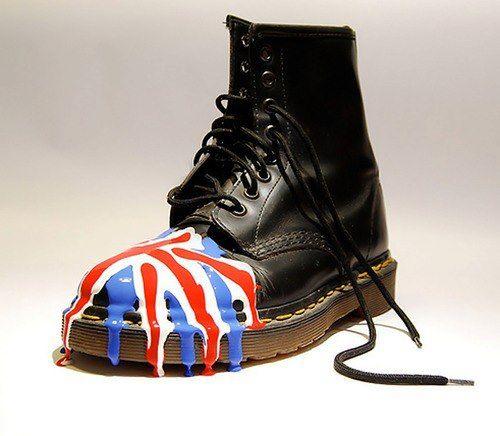 6d442f7dd0f2 Custom Dr. Martens 1460 Boots.