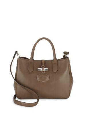 537375e43b4 LONGCHAMP Roseau Heritage Leather Tote. #longchamp #bags #shoulder bags  #hand bags #leather #tote #