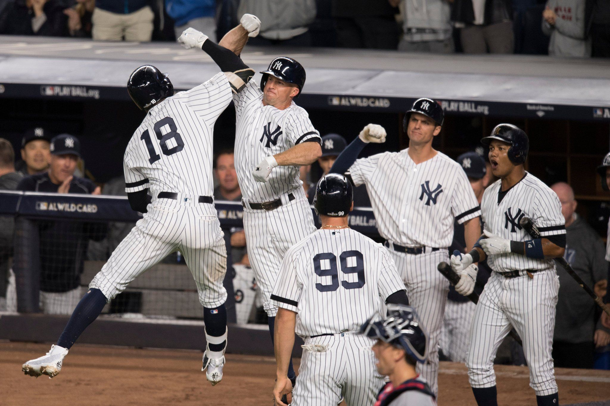 M L B Playoffs How The Yankees Beat The Twins In The Wild Card Game New York Yankees Baseball Baseball Playoffs Yankees Baseball