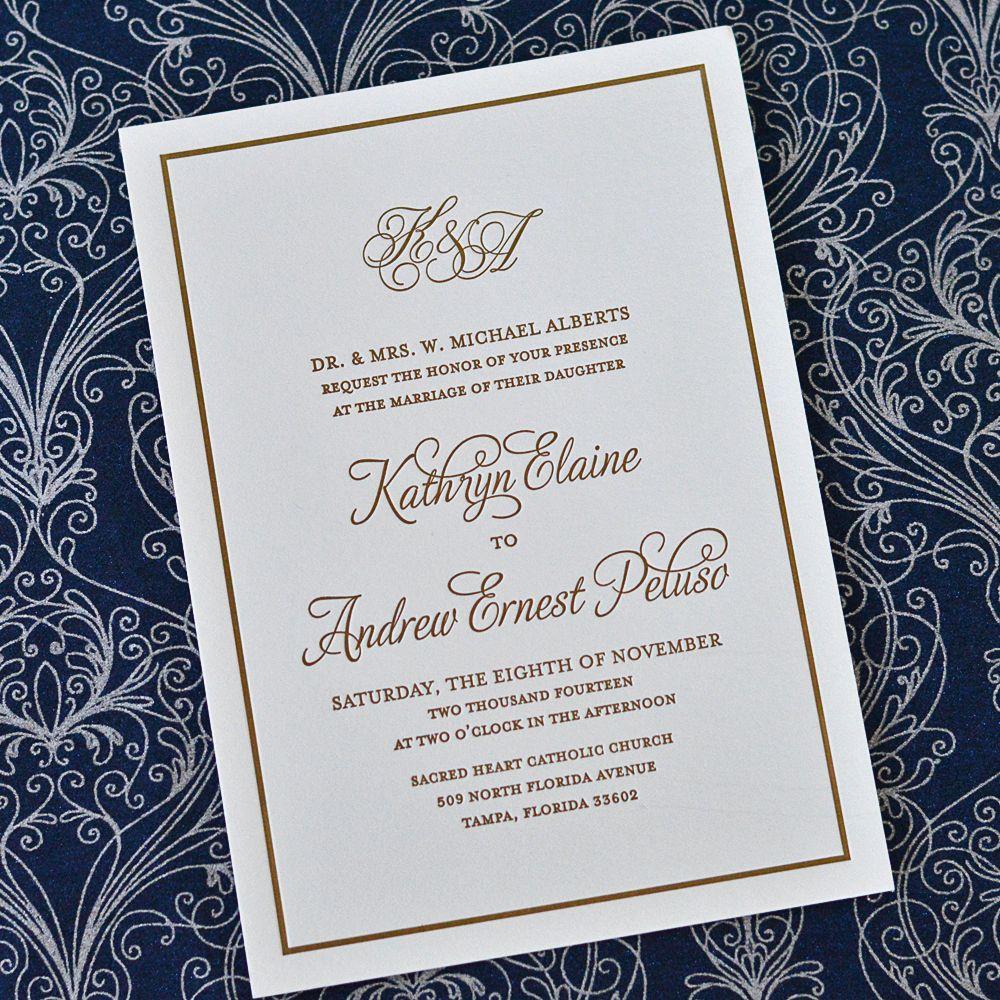 Old-Florida Themed Wedding Invitations   Florida Wedding Inspiration ...