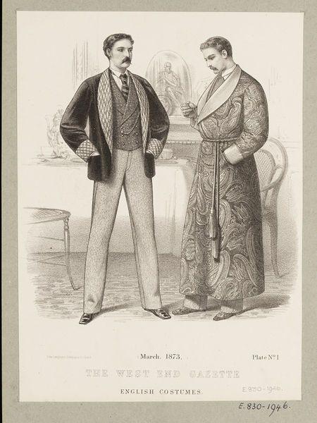1880's mens smokingjacket - Google Search #englishdresses1880