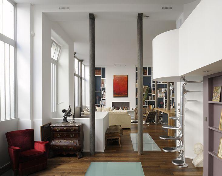 Loft à Paris | Le magazine Ateliers Lofts & Associés | объем ...
