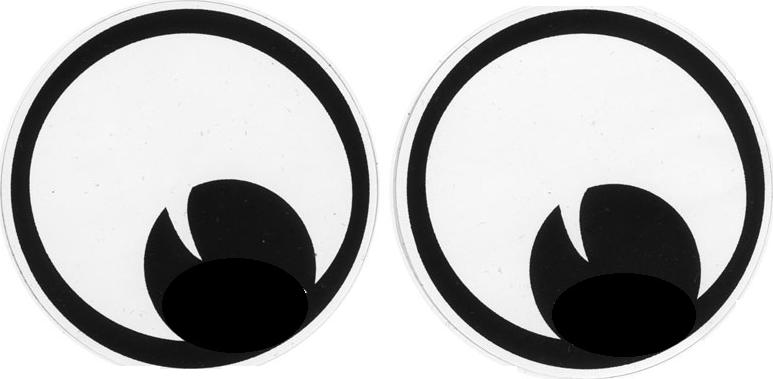 Googly Eyes Plastic Crafts Mug Rugs Craft Supplies
