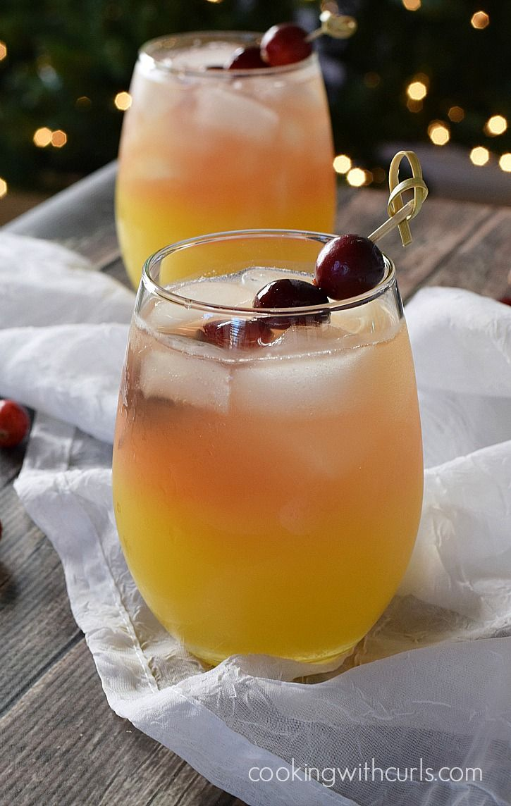 Holiday relaxer cocktail recipe cooking app easy food